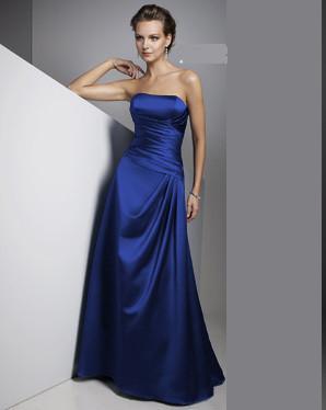 Saténové šaty, vyběr z 10 barev, velikost 36-46, 44