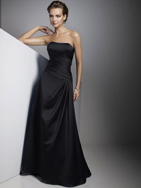 Saténové šaty, vyběr z 10 barev, velikost 36-46, 42