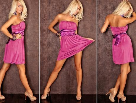 Šaty pro družičky, univerzální velikost, 4 barvy, M