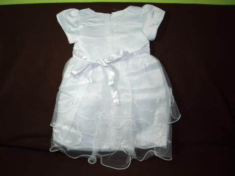 šaty pro družičky ve věku 2-8 let, 134