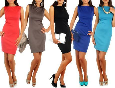 Stylové, elegantní pouzdrové šaty, vel. L/XL, L