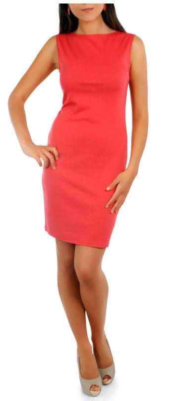 Stylové, elegantní pouzdrové šaty, vel. S/M a L/XL, S