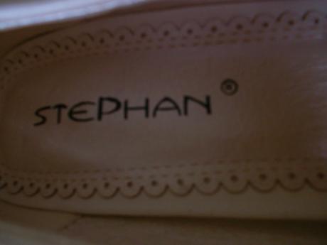 Svatební střevíčky značky Stephan - smetanově bílé, 36