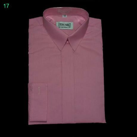 Tmavě růžová košile s dlouhým rukávem, 116