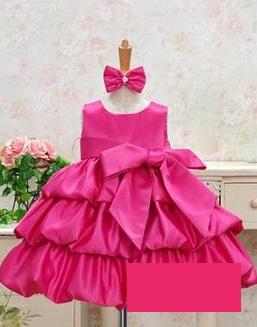 Tutu šaty pro družičky 2-7 let, 128