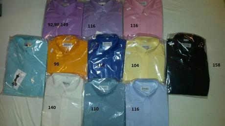 Výprodej košil, poslední kusy, 98