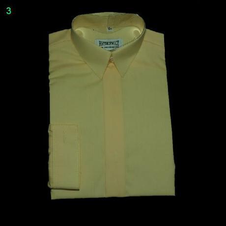 Žlutá košile s dlouhým rukávem, 104