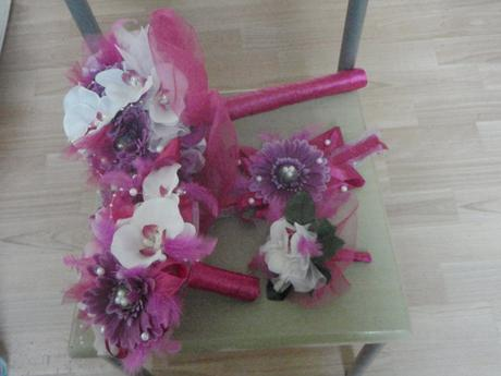 Svatební kytice + sada,