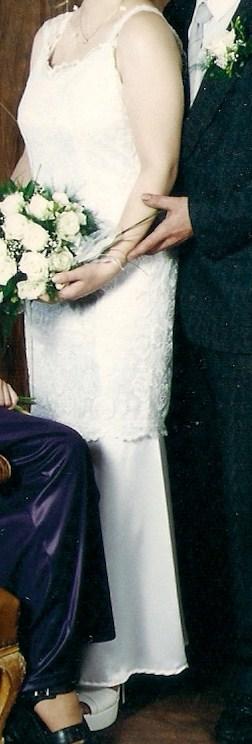 Svatební šaty 2v1, 40