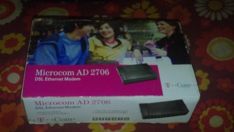 aDSL Modem Microcom AD 2706,