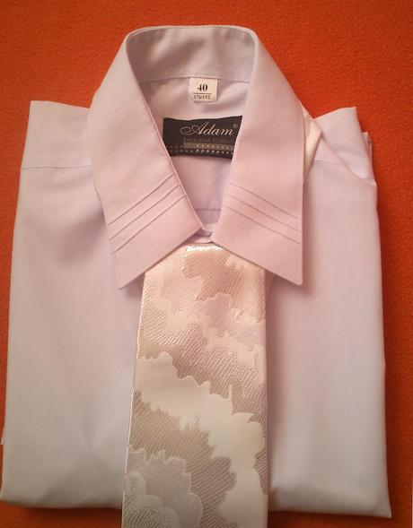 pánska svadobna kravata,