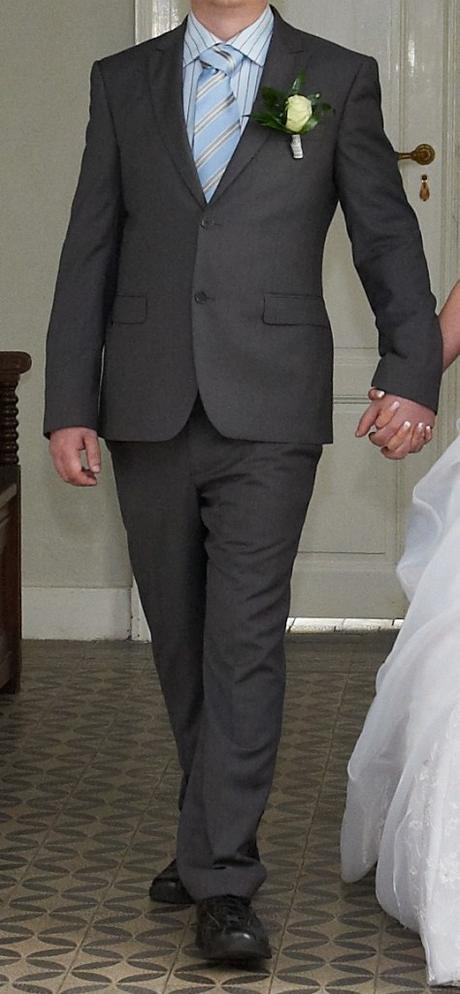 Pánský oblek Calvin Klain, 54