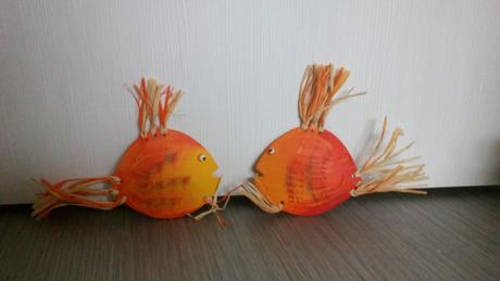 Keramicke rybičky na pověšení,