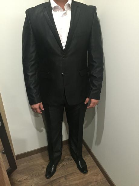 Taliansky svadobný oblek 52/54, 52