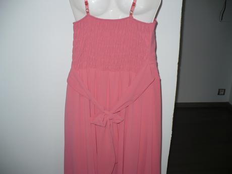 Lososové šaty , L