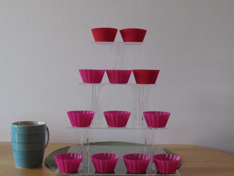 plastový stojan na dortíky, 4 patra,