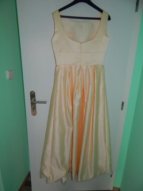 Saténové popolnočné/spoločenské šaty, 40