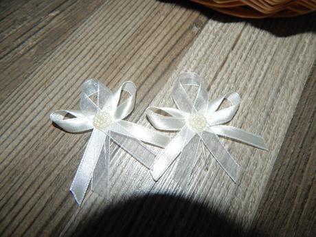 Svadobné pierka Ivory-Biela,