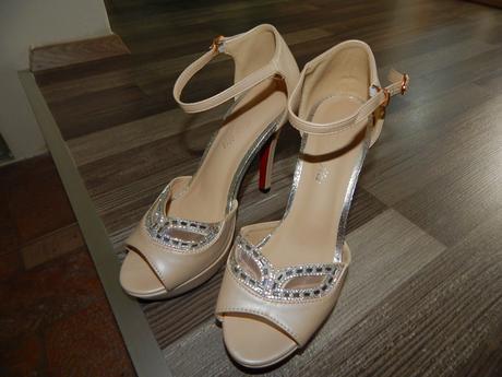 Svadobné topánky vel. 37, 37