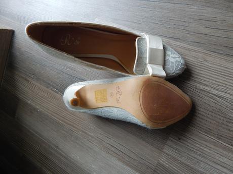 Svadobné topánočky vel. 36, 36