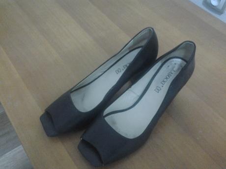 boty na podpatku, 40
