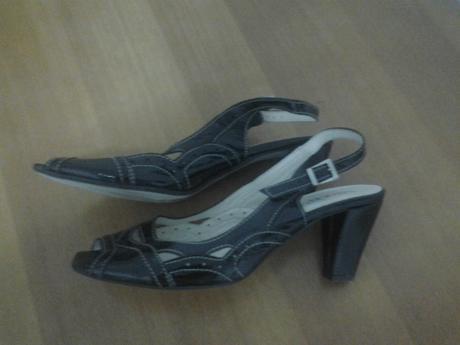 kožené boty, 40