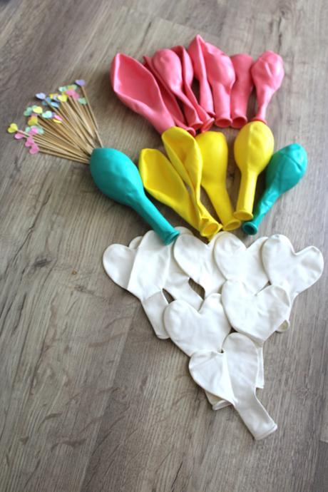 Pastelové balónky,