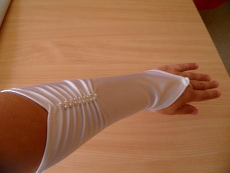 svatební rukavičky ,