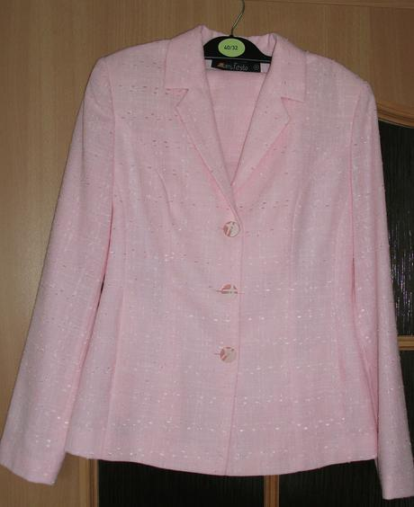Kostým sako (vel.M) + sukně (vel. 40), M