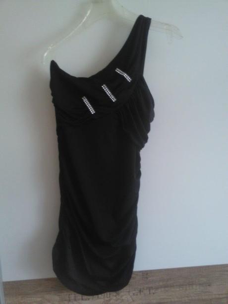 Mini šaty elastické, M