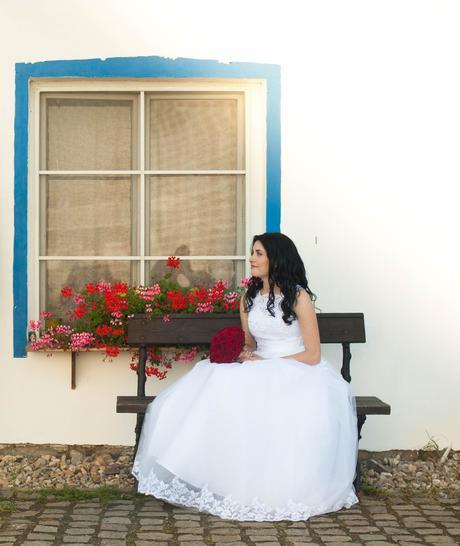 originální svatební šaty velikost 36-38, 38