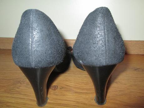 Spoločenské topánky s mašličkou, 39