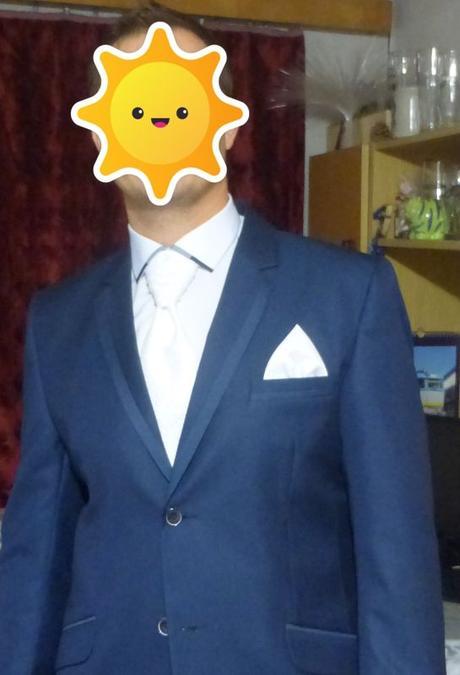 Svadobná kravata - regata + vreckovka do saka ed2e209534