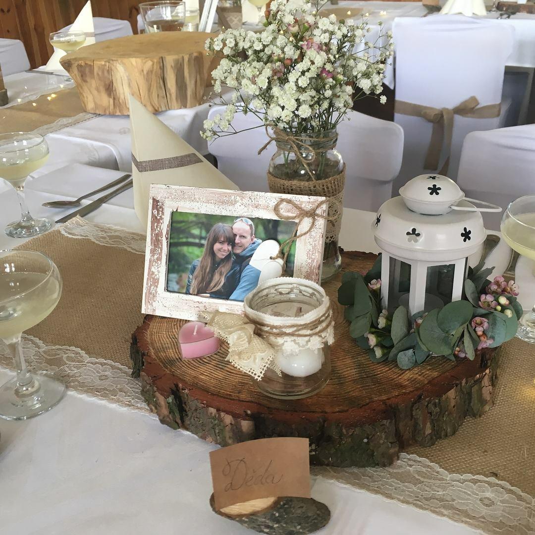 Vyzdoba Rustic Wedding 4 500 Kc Svatebni Bazar Beremese Cz