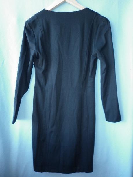 černé elegantní šaty Mango, M