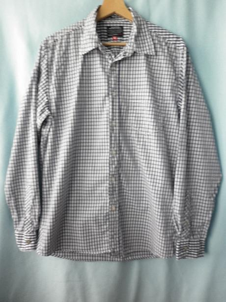 pánská kostkovaná košile velikost M, 42