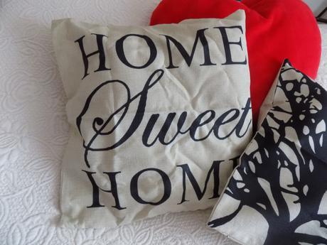 Obliečka Home sweet home,