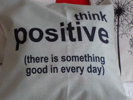 Obliečka Think positive,