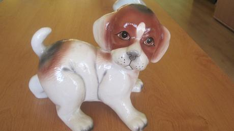 Keramický psík,