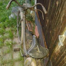 Starožitný bicykel,