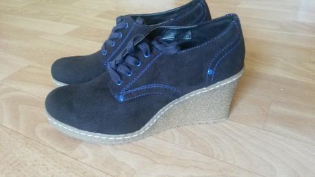 Dámske topánky na platforme, 40