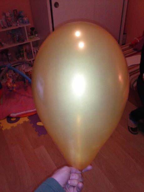 Biele a medene balony 20ks,