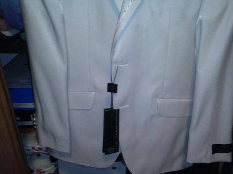 Svadobny znackovy oblek - 48, 48
