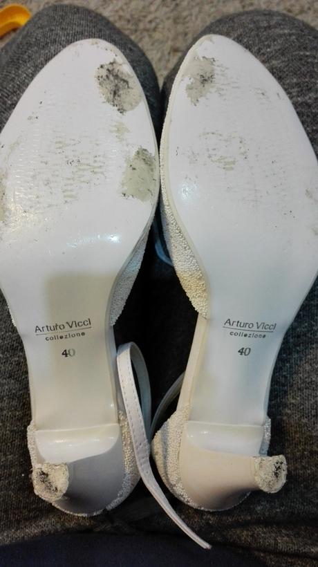 biele topanky arturo vicci, 40