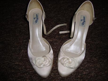 svadobne topanky ivory , 37