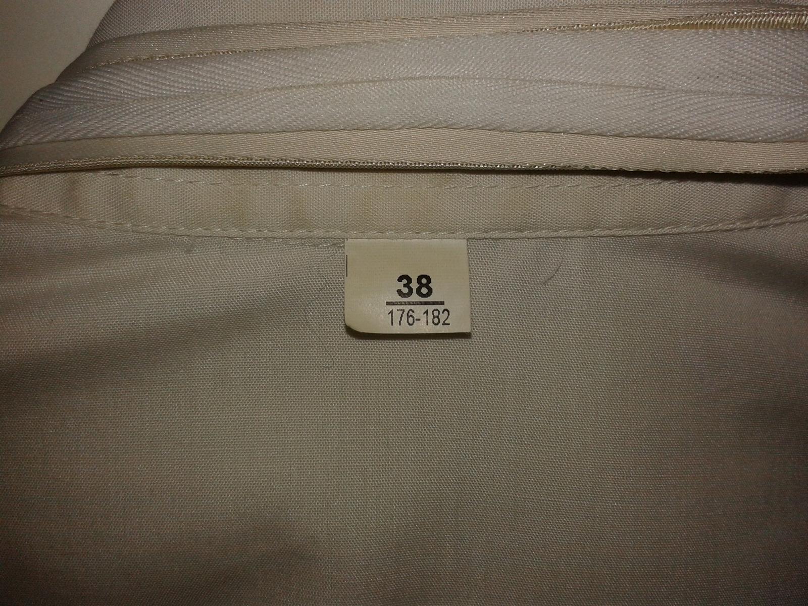 6bf8104f9010 Značková svadobná košeľa - na manžetové gombíky