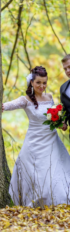 svadobné šaty 38 - 42, 40