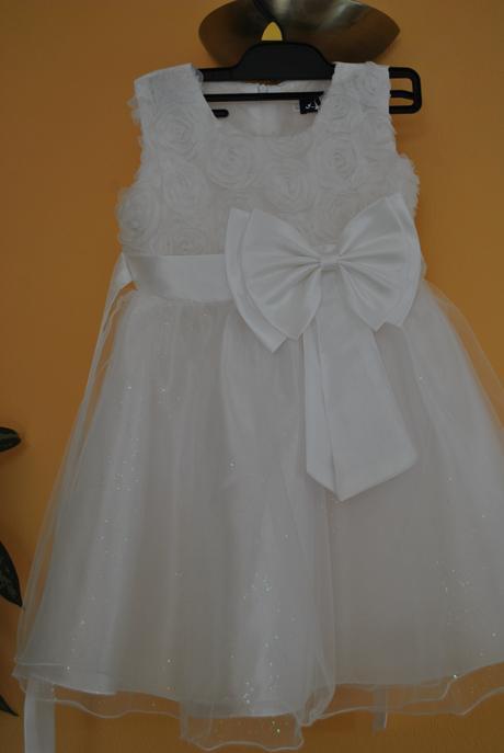 Šaty pre malú družičku 104 a 110/116, 110