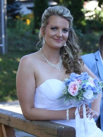 Sada štrasové bižuterie pro nevěstu,
