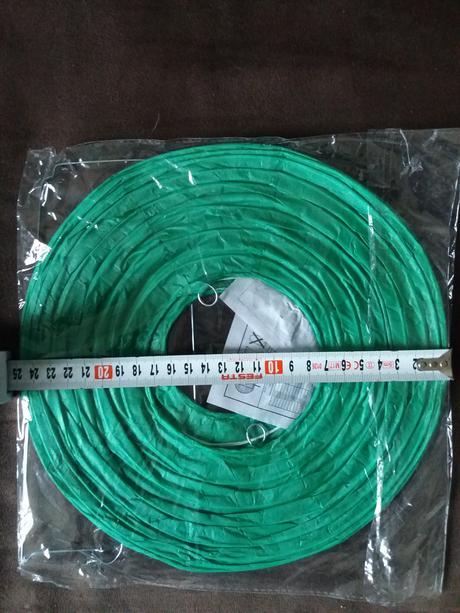 Zelený lampiony,